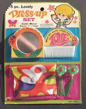 Vtg 1960's Psychedelic Hippie Day-Fran Kids Girls Toy Dresser Beauty Set NOS
