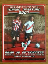 River Plate 2007/08 home progs (select from list) Argentinian Premier League
