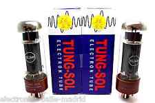 MATCHED PAIR TUNG-SOL EL34B EL34 VACUUM TUBE AMP TESTED! - VALVULA DE VACIO