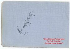 RANDOLPH SUTTON  Music Hall  Variety Singer Entertainer  HAND SIGNED Album Page
