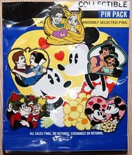 Disney Couples Mystery Pack 5 Pin Set Snow White Tangled Jasmine Queen AUTHENTIC