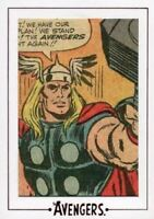 Avengers The Silver Age Comic Archive Cuts Chase Card AV12 #129/177