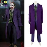 Joker Purple Suits Coat Cosplay Costume The Dark Knight Cosplay