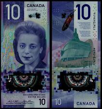 CANADA 10 DOLLARS (P NEW) 2018 POLYMER UNC