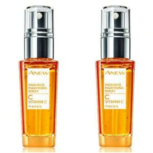 2x Avon Anew Vitamin C Radiance Maximising Serum, 30ml