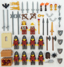 10 NEW LEGO CASTLE KNIGHT MINIFIG LOT Kingdoms figures minifigures people cross