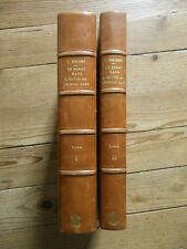 Nohant + Le Berry dans l'oeuvre de G Sand. Complet en 2 tomes. L. Vincent, 1919