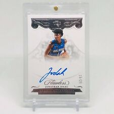 2017-18 Jonathan Isaac Flawless Rookie Autographs Silver 15/25 RC Auto Non RPA