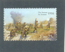 Ireland-Battle of the Somme-World |War 1-military mnh-Art-Paintings