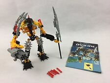 LEGO Bionicle Toa Mahri HEWKII (8912) Complete Model With Original instructions