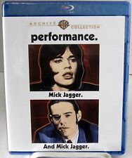 Performance (Blu-Ray Disc, March 2014) 1970 Crime Drama starring Mick Jagger