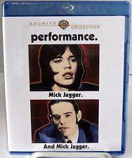 rendimiento (Disco Blu-Ray, Marzo 2014) 1970 acción drama protagonizada por