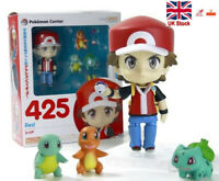Pokemon Ash Ketchum 4'' Action Figures Bulbasaur Charmander Squirtle Anime Toys