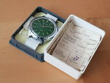 Vostok Military Watch Soviet Union 2403 Green Dial CCCP