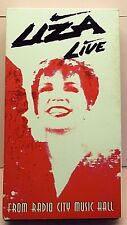 Live from Radio City Music Hall VHS by Liza Minnelli Nov-1992, Sony Music