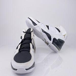 Nike Jordan Ol School IV Sz 9 Black Metallic Silver Promo Sample Shoes 414924101