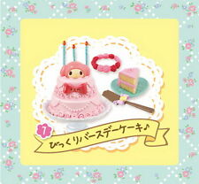 Re-ment Sanrio Miniature My Melody Floral Party Set rement No.07 RARE NOW