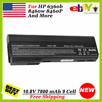 9Cell Battery for HP ProBook 6565b 6560b 6465b 6460b 6360b 8560p 8460w 8460p us