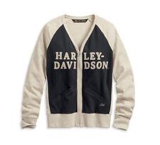 HARLEY-DAVIDSON® WOMEN'S CHAIN STITCH COLOURBLOCK CARDIGAN 96172-20VW XXL