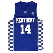 Tyler Herro #14 Kentucky Wildcats Men Basketball Jersey Stitiched Blue