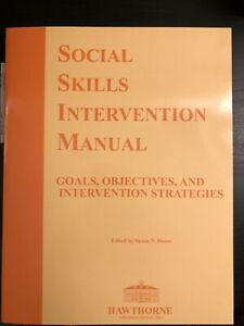 Social Skills Intervention Manual