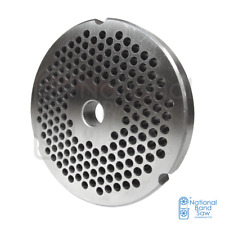 """Grinder plate for #32 Grinders, Hobart and Biro, with 3/16"""" holes great for"""