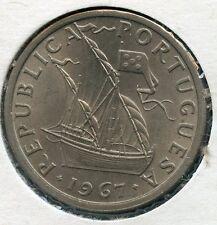 PORTUGAL 1967   5  ESCUDOS   KM-591   COIN YOU DO THE GRADING HAVE FUN