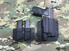 Black Kydex Holster SIG P226 MK25 Surefire X300 Ultra A w/Mag Carrier