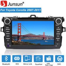 8'' Car Stereo Car Radio CD DVD Player Bluetooth FM For Toyota Corolla 2007-2011