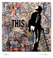 Inkjet Tehos handsigniert Limited Edition Moderne Street Art