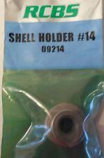 RCBS Shell Holder #14  09214 338 Lapua, 45-70 Govt, 460 Wby Mag, 338 Wby Mag