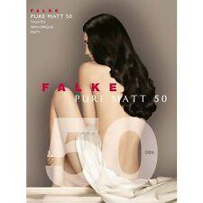 Falke 50 Tights Pure Matt Semi Opaque 50 Den Color Black  Size M/L 40150