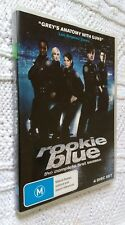ROOKIE BLUE - SEASON -1 – DVD, 4-DISC, R-4, LIKE NEW, FREE POST  IN AUSTRALIA