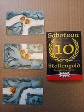 SABOTEUR stolengold STUD GOLD 10 years ANNIVERSARY PROMO expansion 3 new card