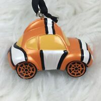 New Disney Parks Finding Nemo Racers Ornament Racer Car Christmas Holiday