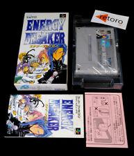 ENERGY BREAKER Super Famicom Nintendo SNES SFC COMPLETO Jap Taito