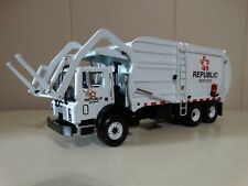 First Gear Republic Front Load Garbage Truck Mack MR 1:34 Scale Diecast 2002
