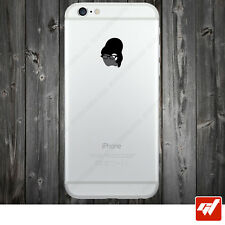 Sticker Autocollant Apple Iphone 4 5 6  Lot de 2X - SECRETAIRE LUNETTES IPH35