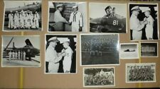 Lot of 11 Vintage Official Military Photographs - Navy Army Etc. - Planes WWII