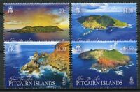 Pitcairn Islands 2018 MNH Pitcairn From the Air 4v Set Landscapes Tourism Stamps