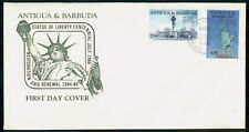 Mayfairstamps ANTIGUA & BARBUDA FDC 1986 COVER STATUE OF LIBERTY COMBO wwh 94949