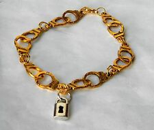 BDSM KINK Limited Edition Handcuff Bracelet with Lock