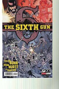 THE SIXTH GUN #35 - BRIAN HURTT ART & COVER - CULLEN BUNN STORY - ONI PRESS 2013