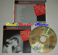 CD LOVE TIME 2 casual BARRY WHITE MIKE OLDFIELD ROD STEWART 1990 (C9) cd lp dvd