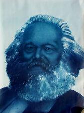 Karl Marx 1979 Vintage Polish Poster 27x38 signed by Artist A Pagowski Rare
