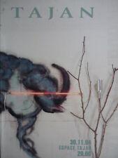 Catalogue de vente : TAJAN Art Contemporain Abstrait Arman Rebeyrolle Poliakoff