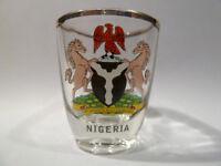 NIGERIA SHOT GLASS SHOTGLASS