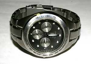 Genuine Fossil Blue 100m/330ft Water Resistant Stainless Steal Watch BQ-9066