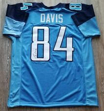 Corey Davis autographed signed jersey NFL Tennessee Titans JSA w/ COA