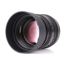 Kamlan 50mm f/1.1 MF APS-C Lens for Sony NEX Fujifilm FX Canon EOSM Olympus m4/3